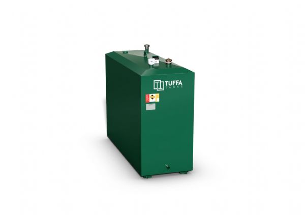 1100  Litre Steel Oil Tank - Steel Bunded